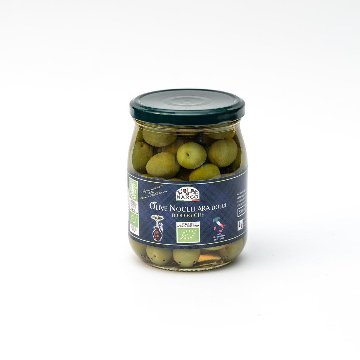 Olive Nocellara Biologiche